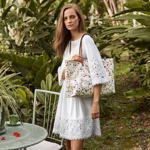 Tory Burch Larissa Dress, White, size 4